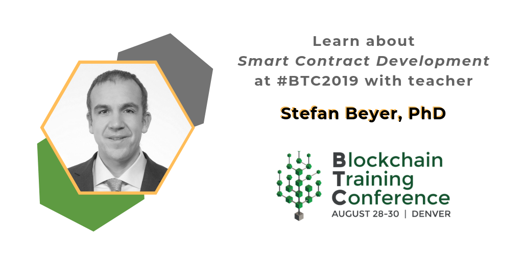 Meet BTC2019 Teacher Stefan Beyer, PhD