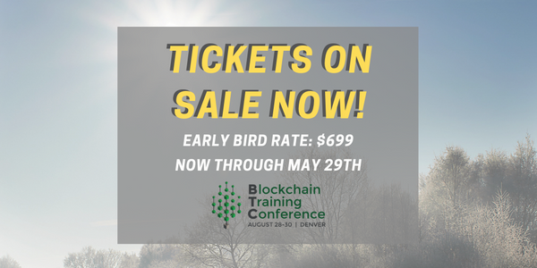BTC2019 Limited Early Bird Tickets On Sale Now