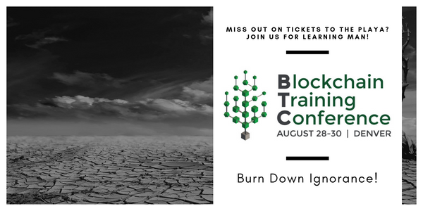Didn't score tickets for Burning Man 2019? Join us for Learning Man in Denver August 28th-30th!